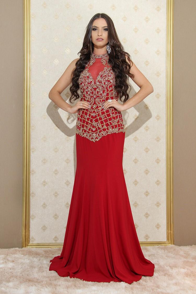Vestido Marsala Manuela