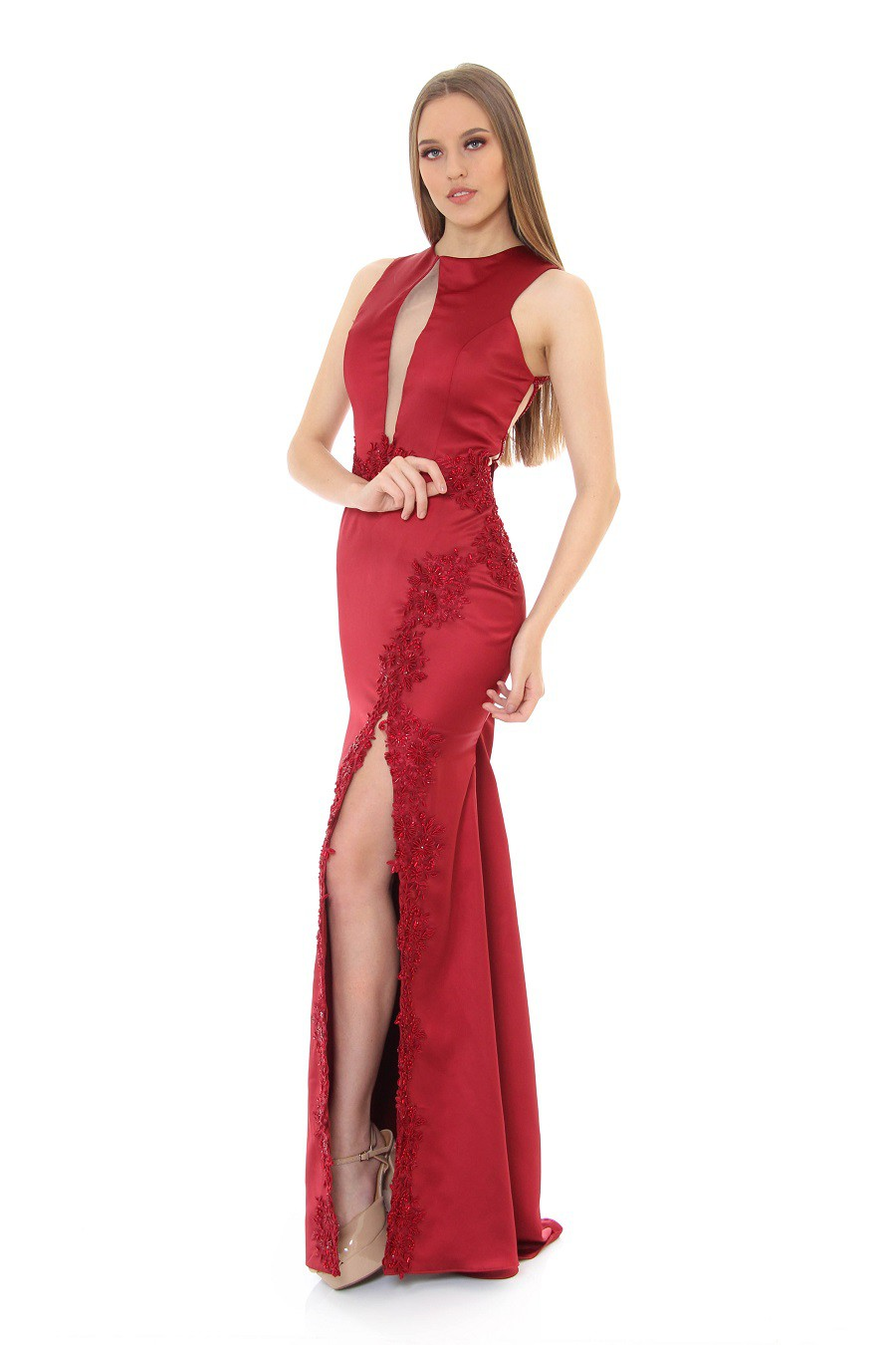 Vestido Marsala 167