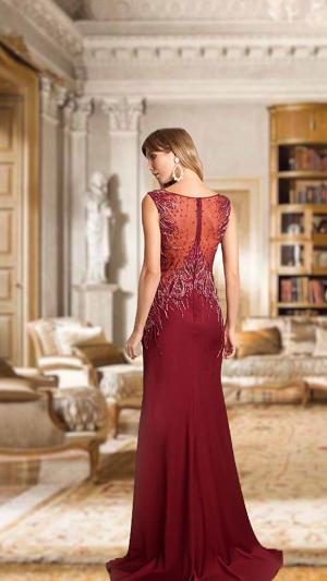 Vestido Marsala Rafaela