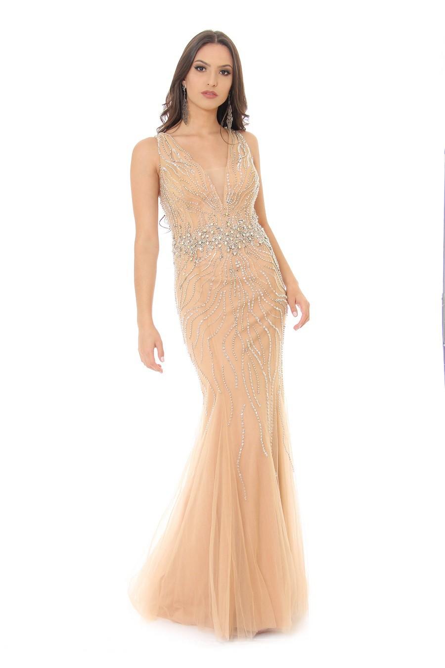 Vestido Nude Isadora