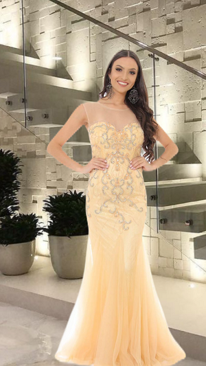 Vestido Nude Mariana