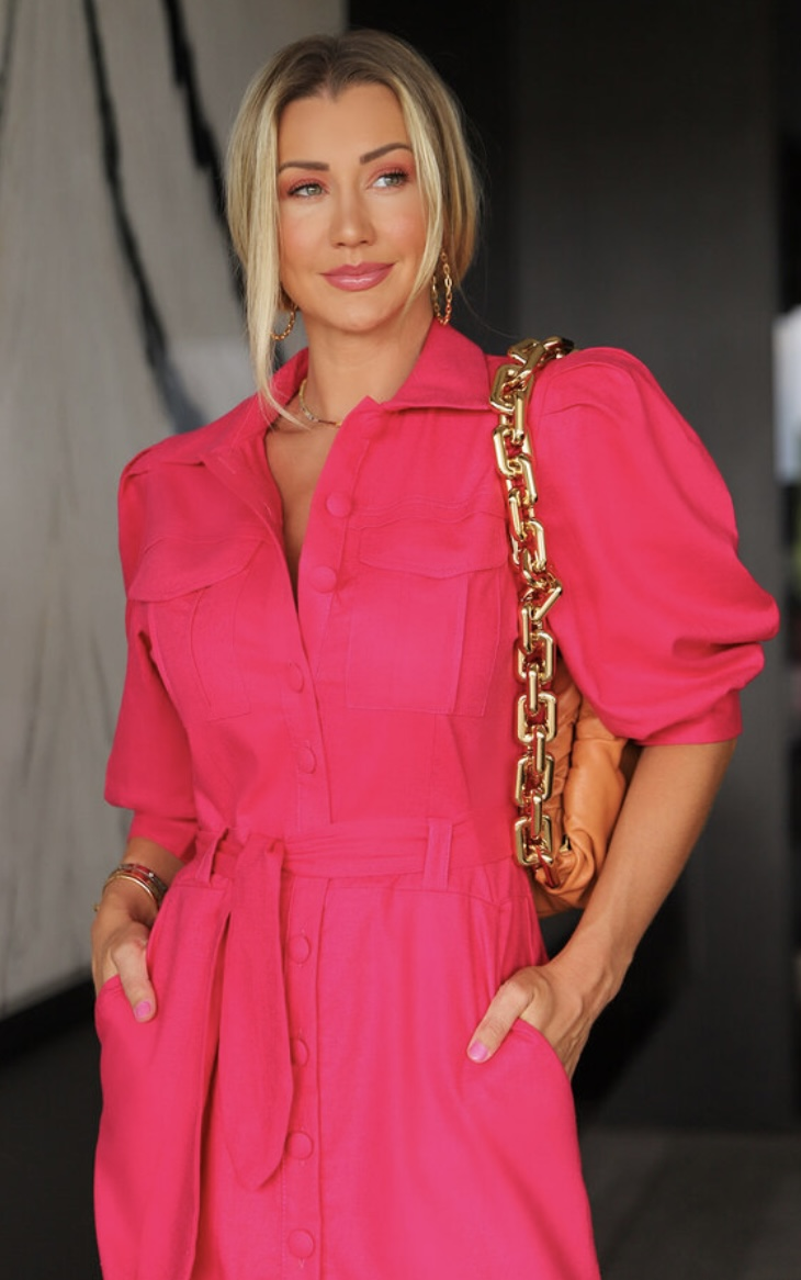 Vestido pink Julieta