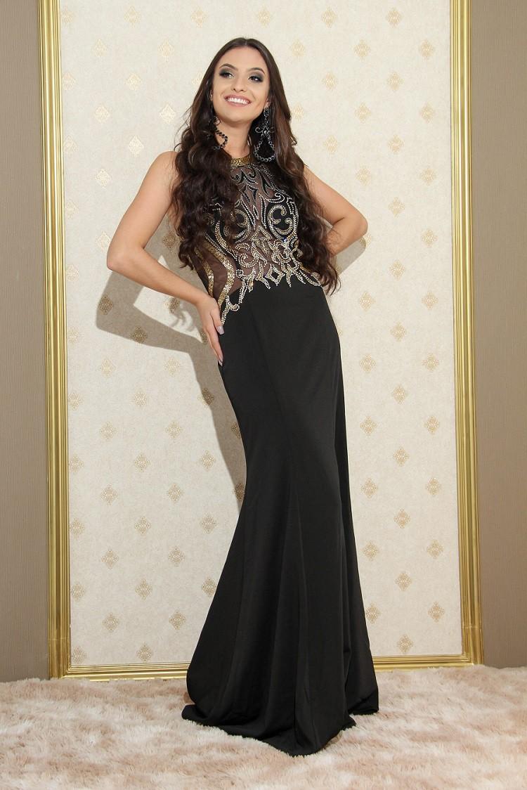 Vestido Preto Camila