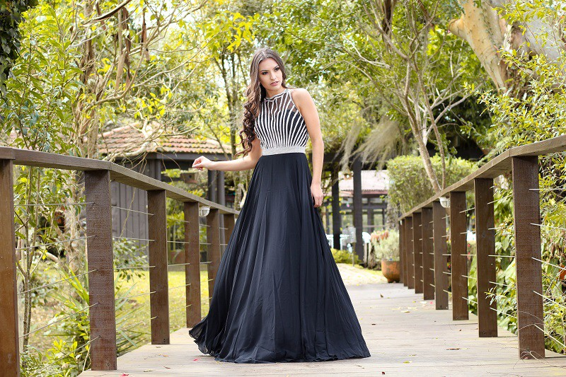 Vestido Preto Larissa