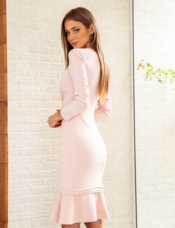 Vestido Rosa Analu