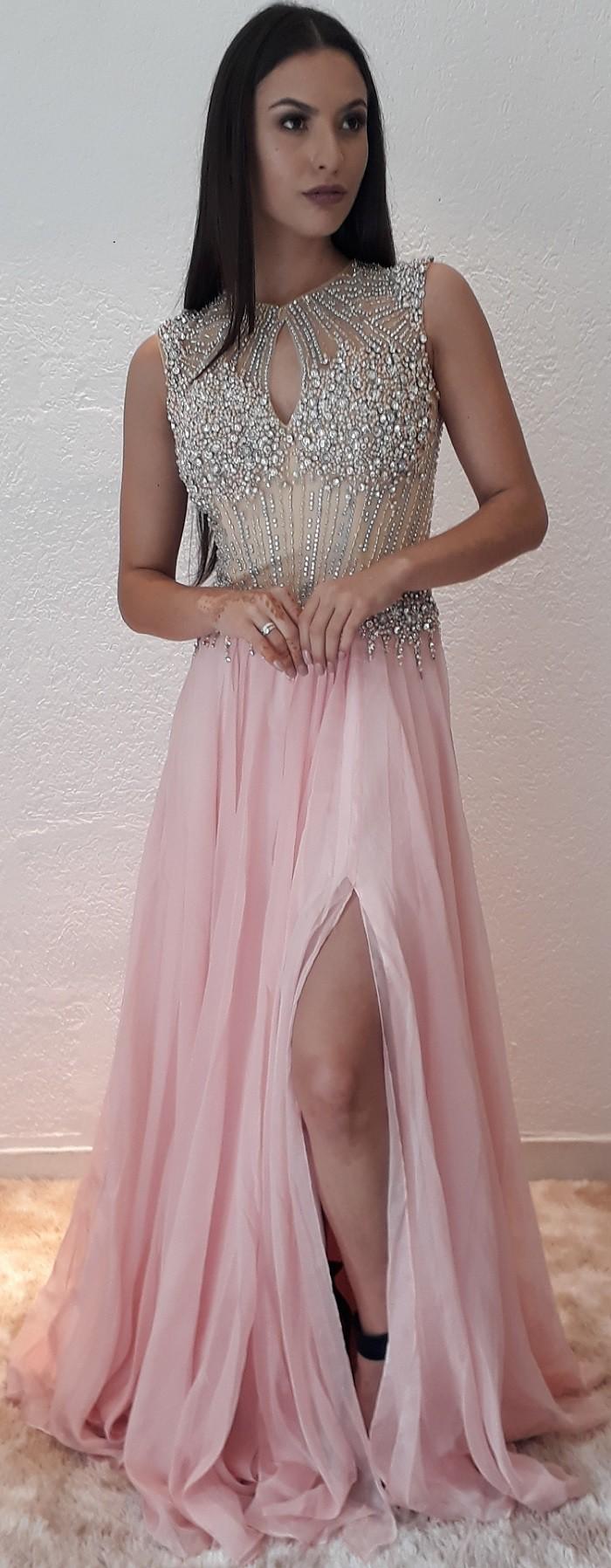 Vestido Rosa Bianca