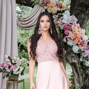 Vestido Rosa Carrara