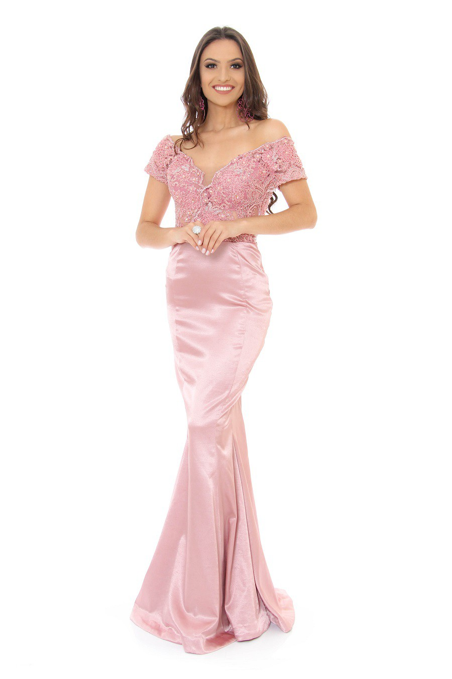 Vestido Rosa Esther