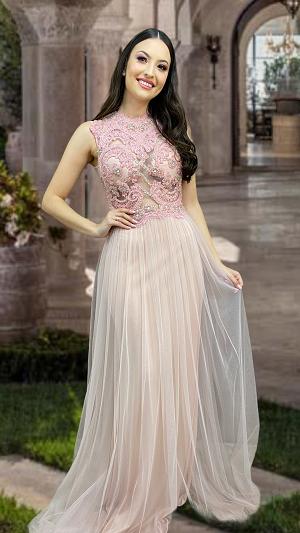 Vestido Rosa Giovanni