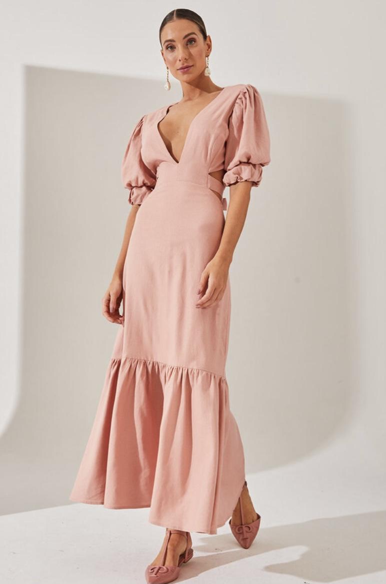 Vestido Rosa Lia