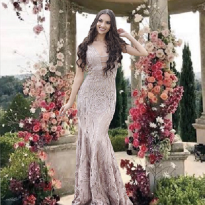 Vestido Rosa Maya