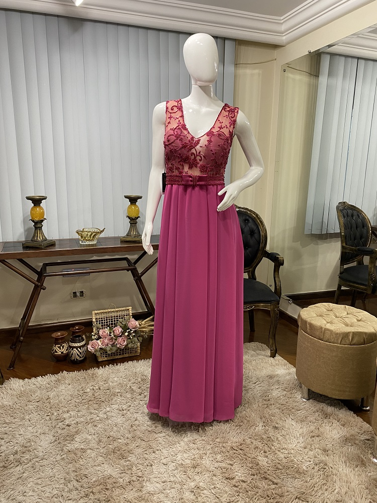 Vestido Rosa Pink 109