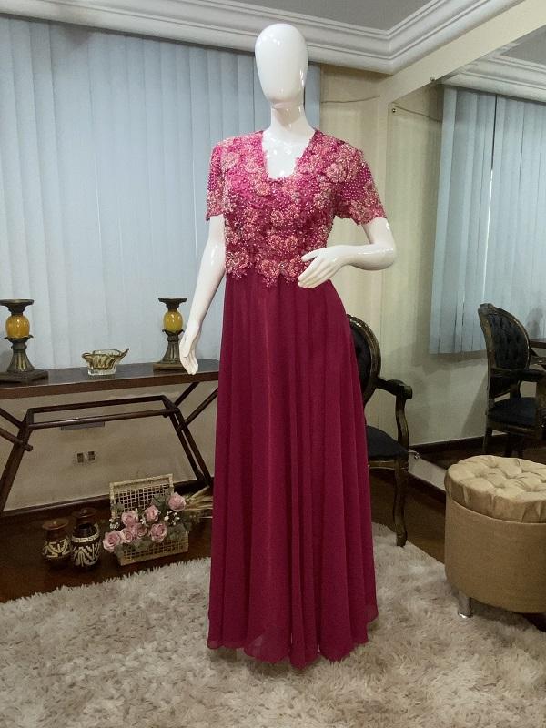 Vestido Rosa Pink 111