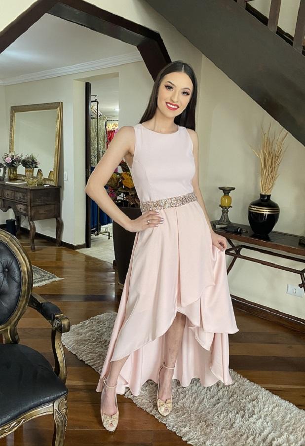 Vestido Rosa Talita