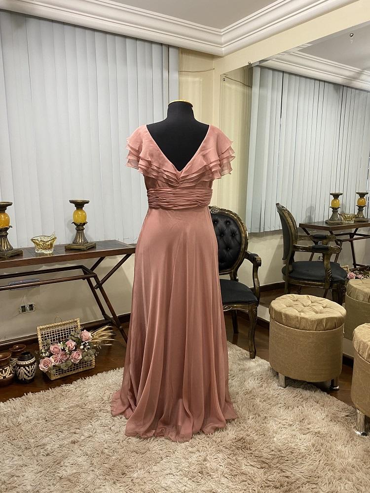 Vestido Rosé Gold 511