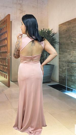 Vestido rosé Rennes