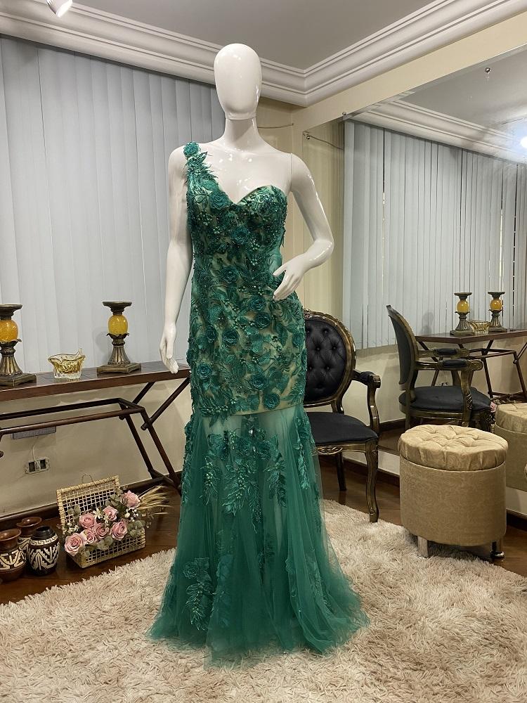 Vestido Verde 514