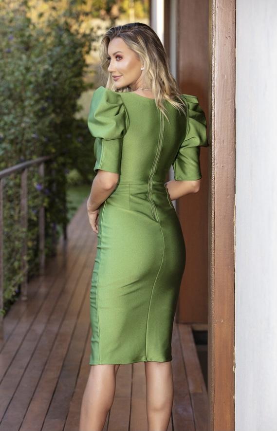Vestido verde Angelina