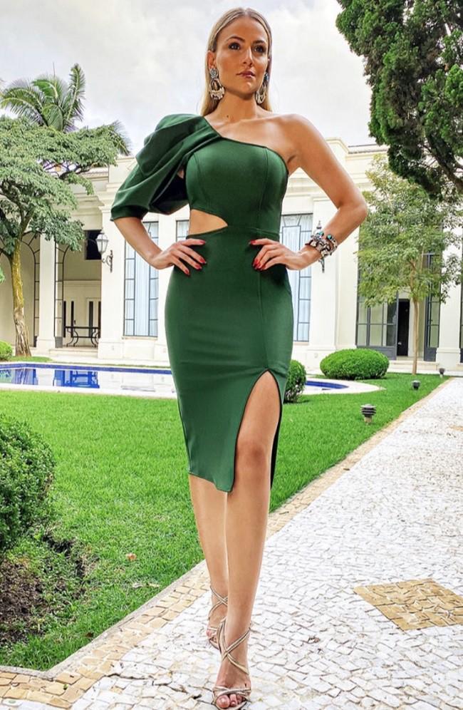 Vestido Verde Carlota