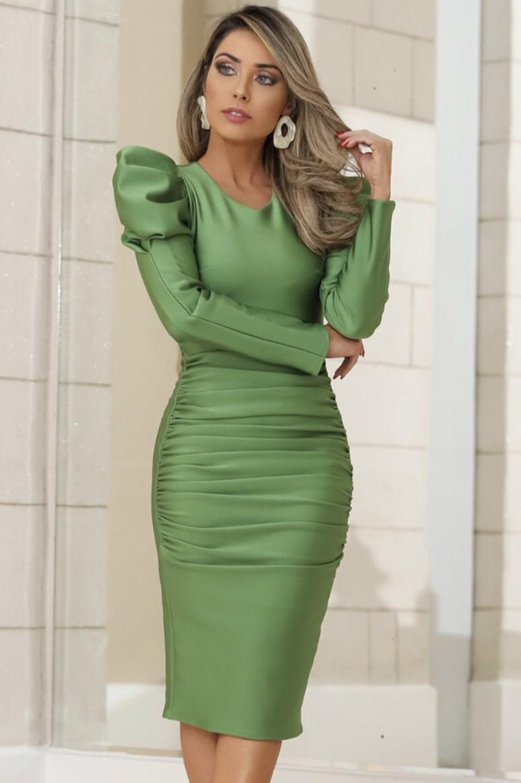 Vestido Verde Eleonora