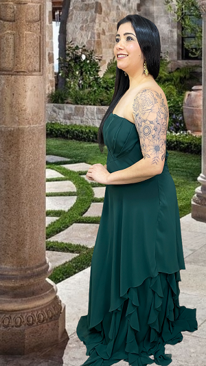 Vestido Verde Grenoble