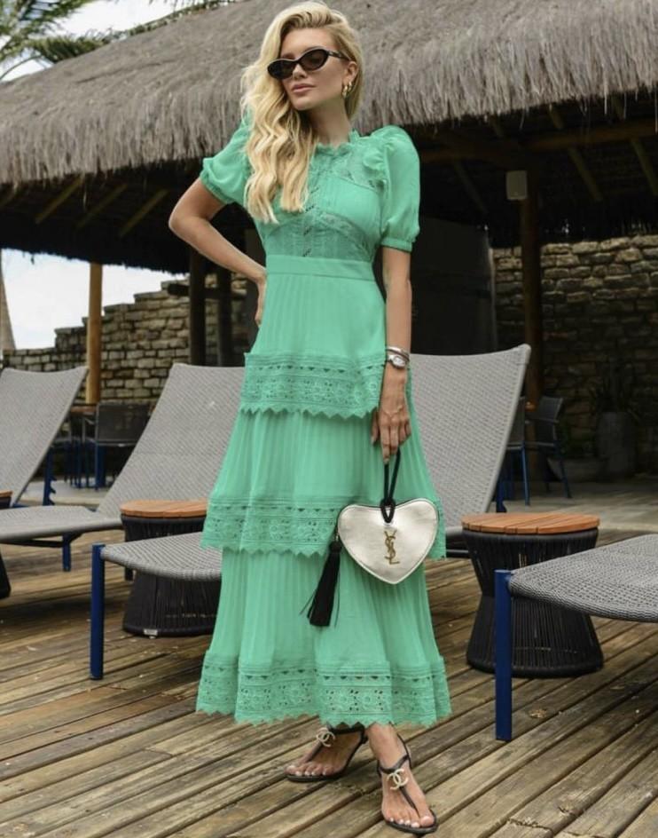 Vestido Verde Louise