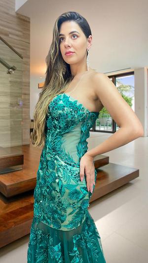 Vestido Verde Marselha