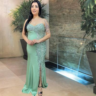 Vestido Verde Menta Gela