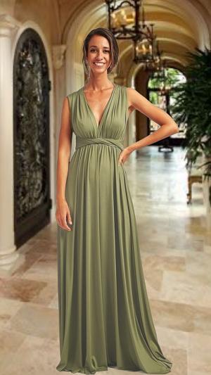 Vestido Verde Oliva Terni