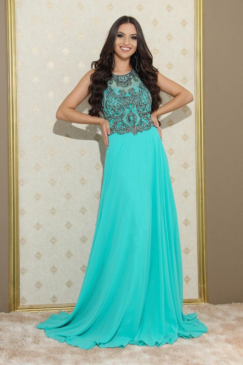 Vestido Verde Tiffany Andy