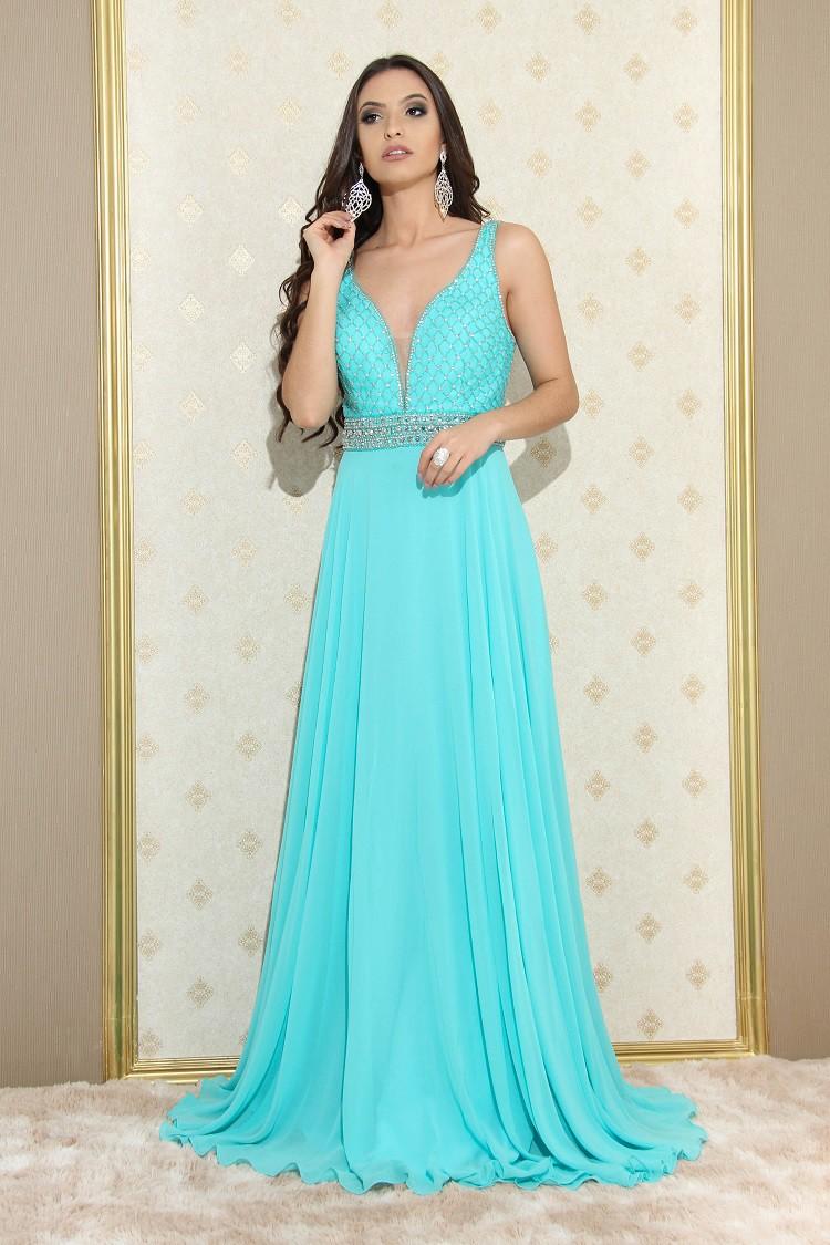 Vestido Verde Tiffany Lívia