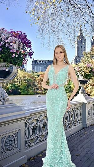 Vestido Verde Tiffany Nicole