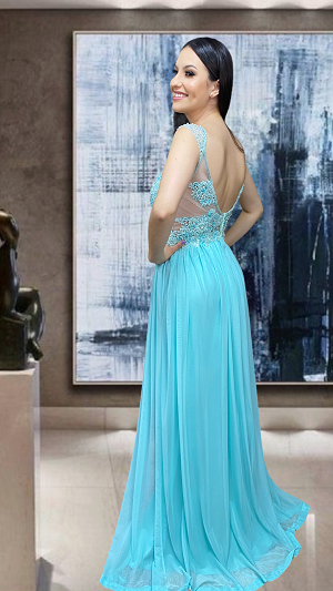 Vestido Verde Tiffany Pavia