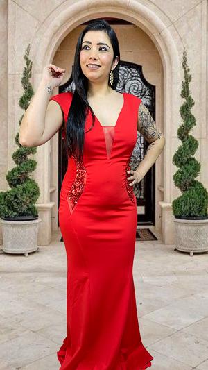 Vestido Vermelho Alessandria