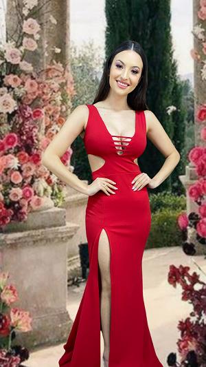 Vestido Vermelho Arsízio