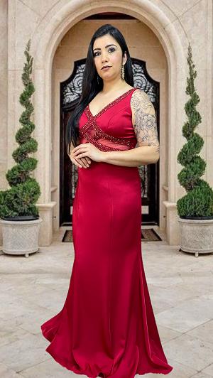 Vestido Vermelho Emilia