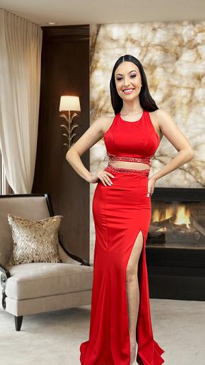 Vestido Vermelho Guidona