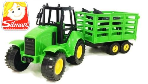 Trator De Brinquedos Silmar Brinquedos Agromak Haras  - 825