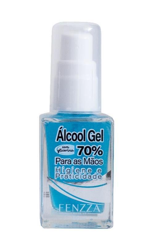 Álcool em Gel 70%  30 ml *saúde*