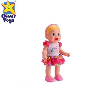 Boneca My Collection Come e Faz Caquinha Diver Toys-858