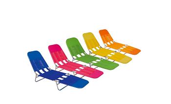 Cadeira Espreguiçadeira PVC *Sortido*-6891