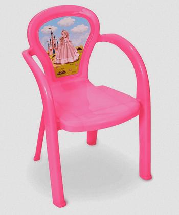 Cadeira Infantil Decorada Princesa Usual-3706