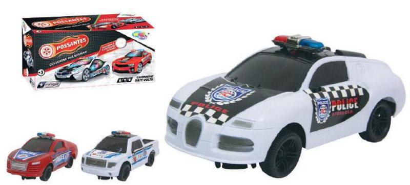 Carro De Policia Bate Volta