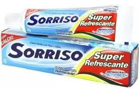 Creme Dental Sorriso Super Refrescante 50g