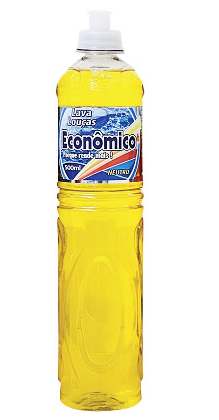 Detergente Econômico Neutro 500ml - 6678
