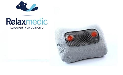 Encosto Massageador Shiatsu Pillow Relaxmedic