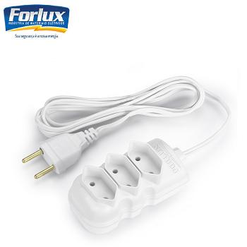 Extensão Compact Bipolar Branca 5MT Forlux-119