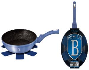 Frigideira De Alumínio 24 cm Azul-5689