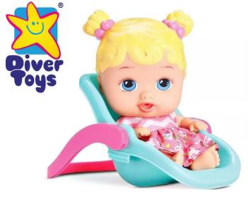 Little Dolls Passeio  Diver Toys-889