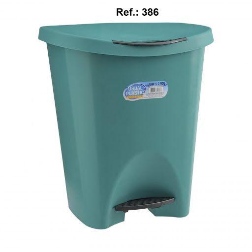 Lixeira com Pedal 15 litros Verde